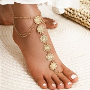 Jewelry - Toe Ring Anklet